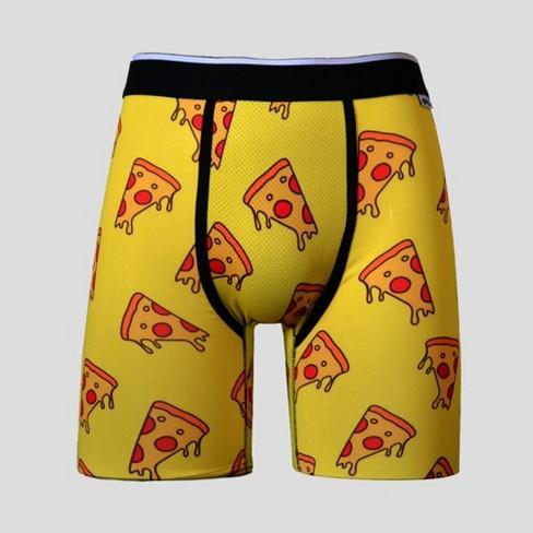 PSD Underwear Mens Fast Pizza Boxer Briefs