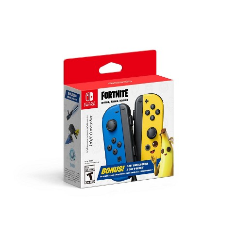 Nintendo Switch Joy-Con L/R Fortnite Edition with Fleet Force Bundle & 500 V-Bucks - image 1 of 3