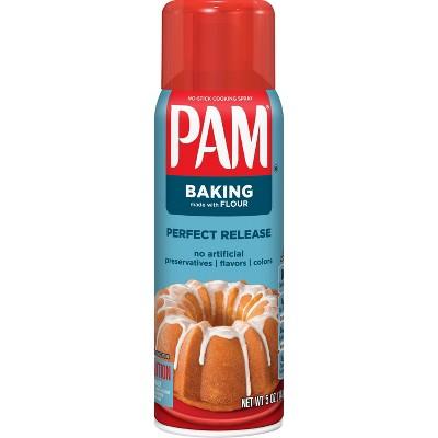 PAM Canola Oil Baking Spray with Flour - 5oz