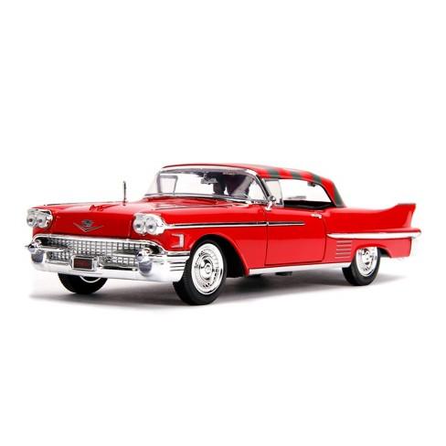 Hollywood Rides 1958 Cadillac w// Freddy Krueger 1//24 Scale Nightmare on Elm St