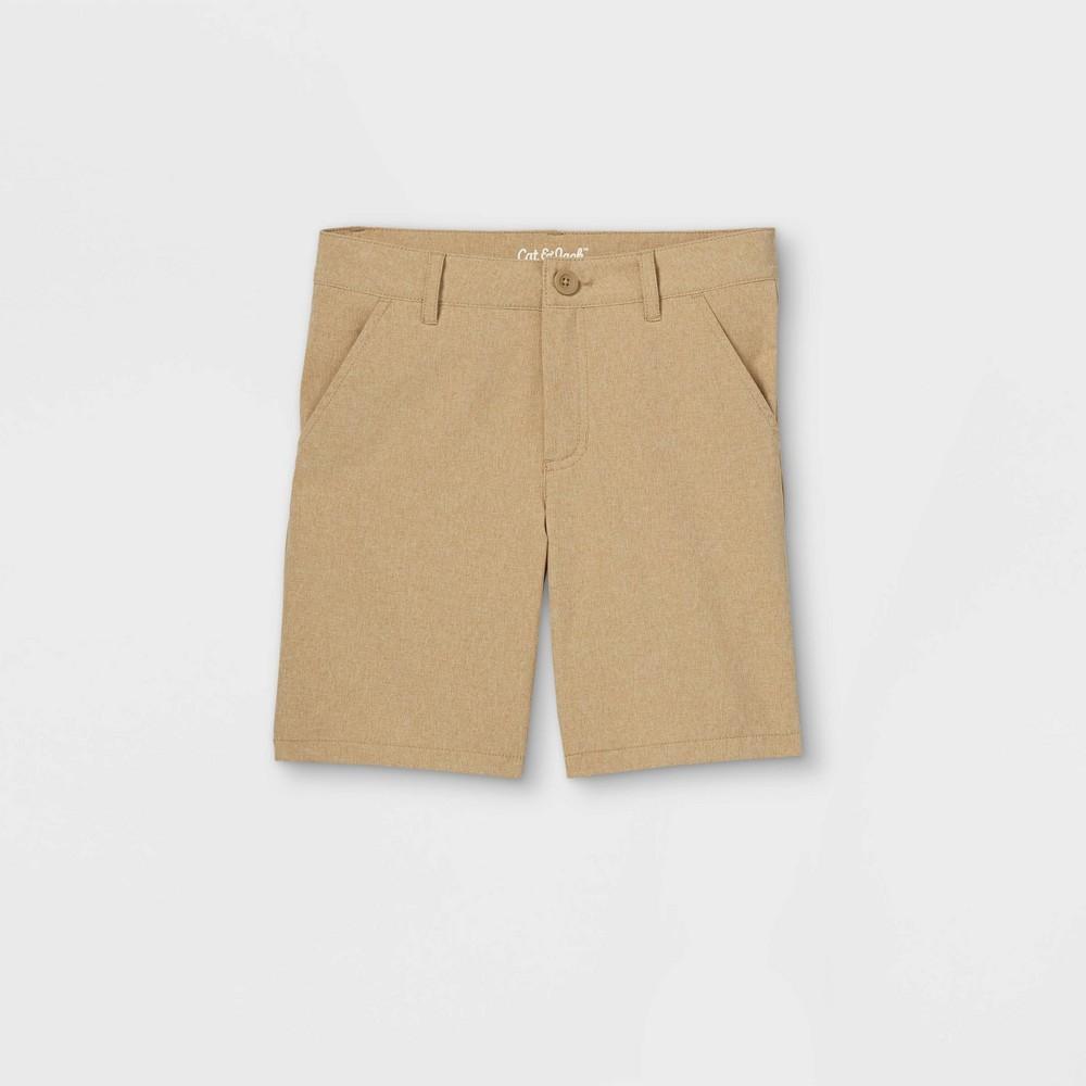 Boys 39 Quick Dry Chino Shorts Cat 38 Jack 8482 Brown 4