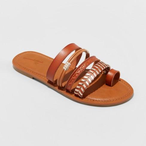 d0934a2c2 Women's Wilma Slide Sandals - Universal Thread™ Cognac 7 : Target