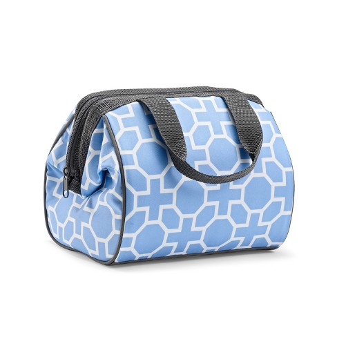 Fit & Fresh Charlotte Lunch Kit - Periwinkle Geo - image 1 of 4