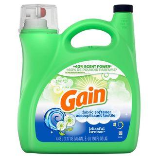 Gain Blissful Breeze Liquid Fabric Conditioner (Fabric Softener) - 150 fl oz