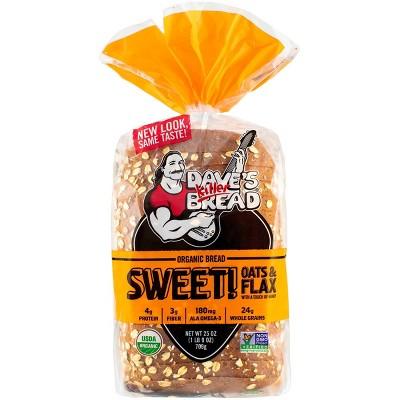 Dave's Killer Bread Organic Seeded Honey Wheat - 25oz
