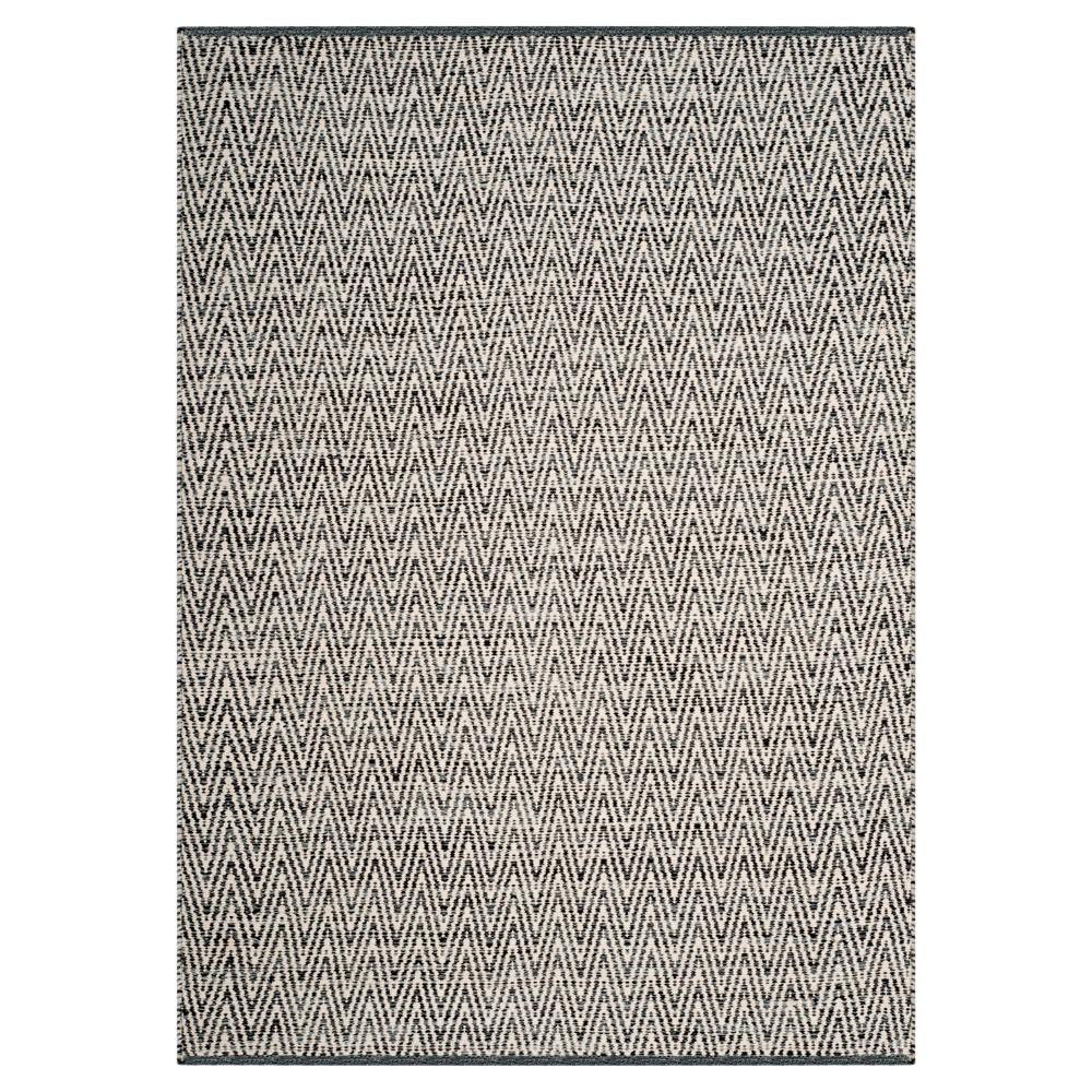 Montauk Rug - Ivory/Dark Gray - (5'x7') - Safavieh, White