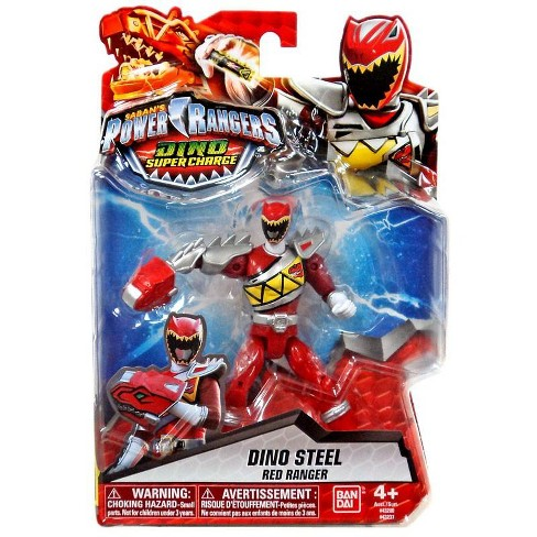 Power Rangers Dino Super Charge Dino Steel Red Ranger Action Figure - image 1 of 3