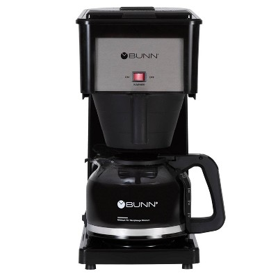 BUNN Velocity Brew 10 Cup Coffee Brewer - Black GR-B