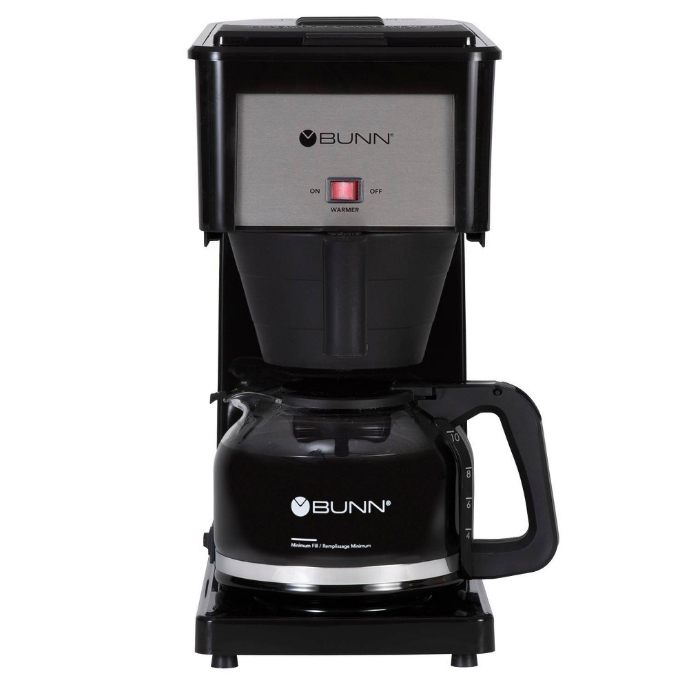 Image of BUNN Velocity Brew 10 Cup Coffee Brewer - Black GR-B