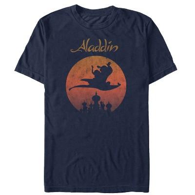 Men's Aladdin Magic Carpet Ride Wave T-Shirt