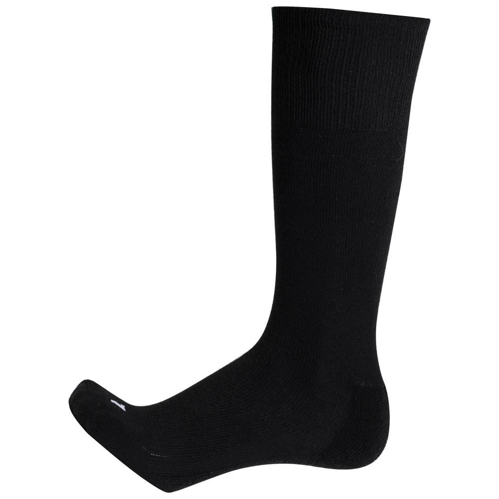 Franklin Sports Baseball Socks - M - Black, Kids Unisex