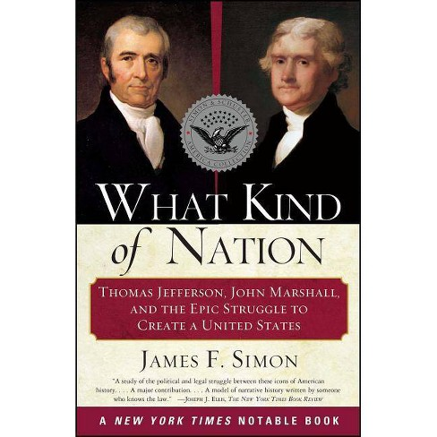 What Kind of Nation - by  James F Simon (Paperback) - image 1 of 1