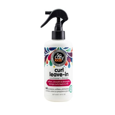 So Cozy Kids Curl Leave In Conditioner + therapy - 8 fl oz