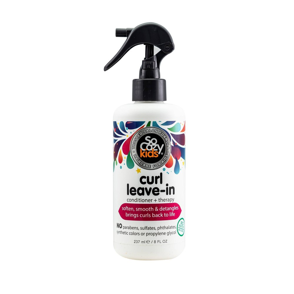 Image of So Cozy Kids Curl Leave In Conditioner + therapy - 8 fl oz
