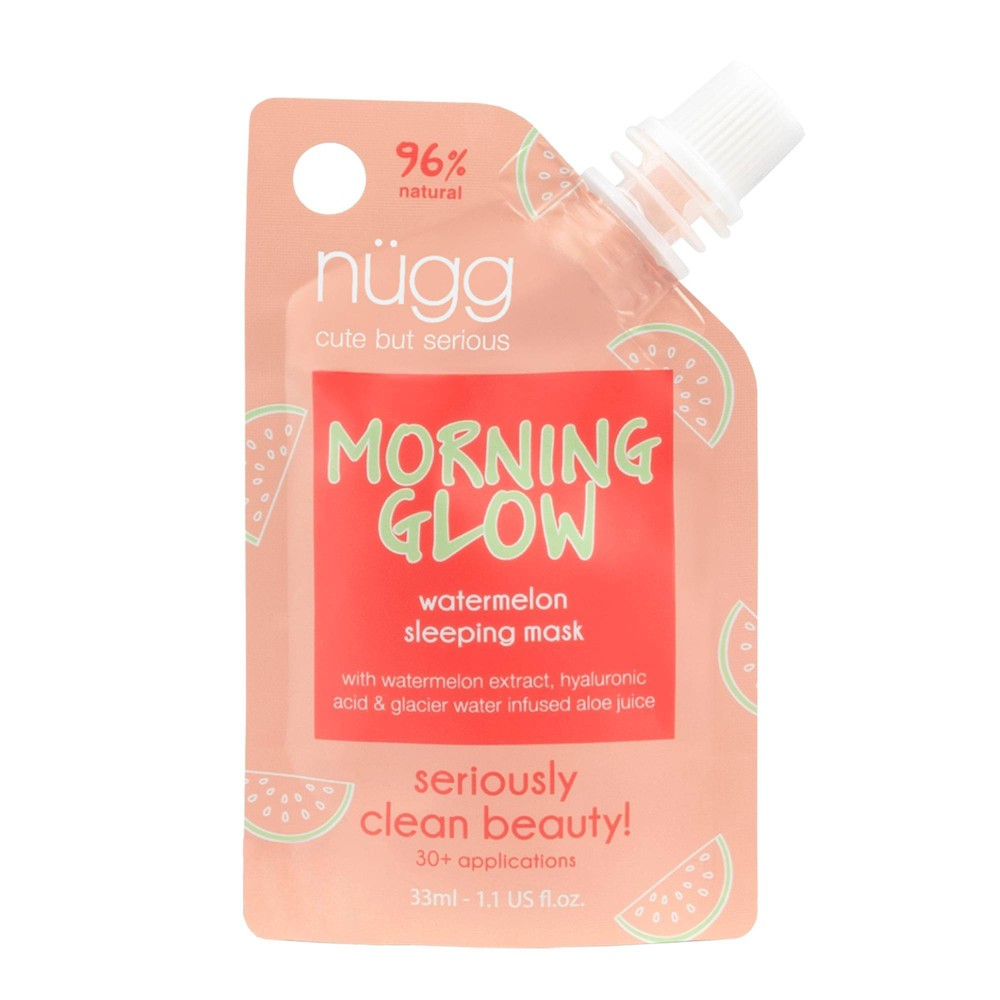Image of nügg Morning Glow Watermelon Sleeping Mask - 1.1 fl oz