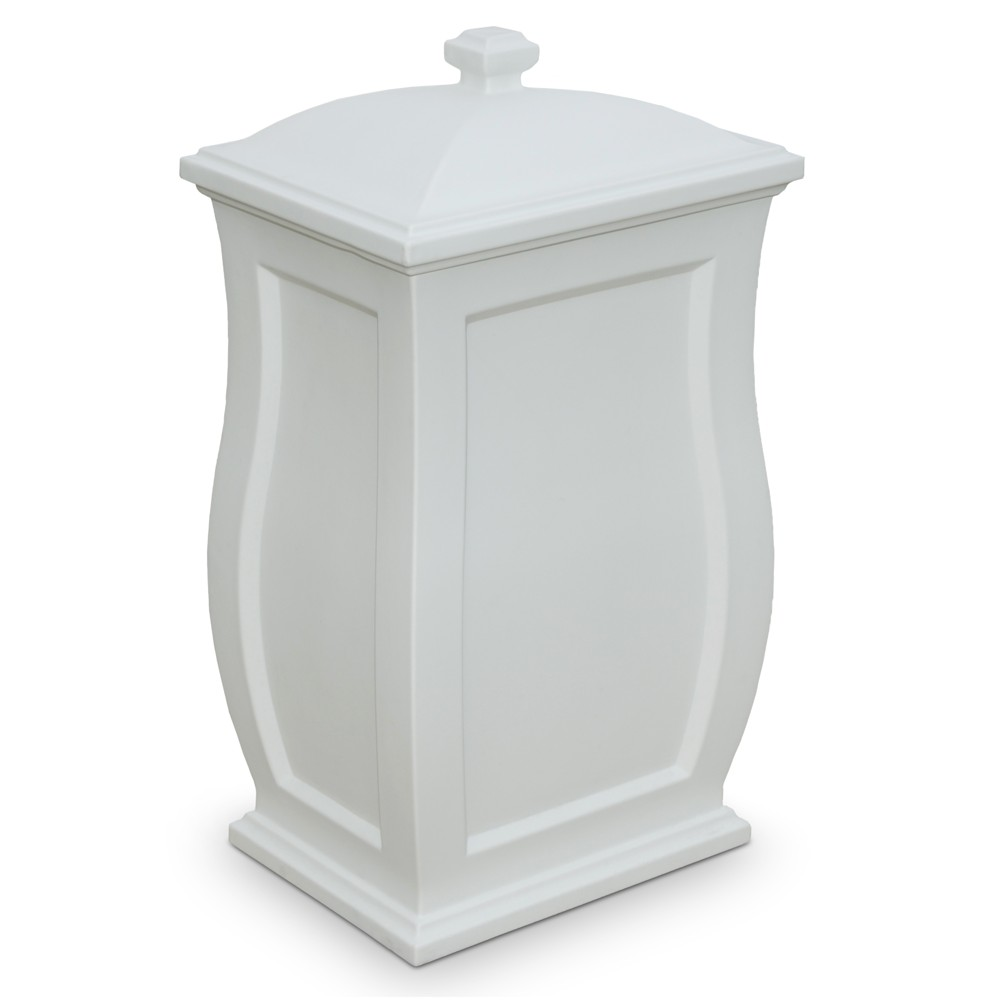 Garden Storage Box 32H - White - Mayne