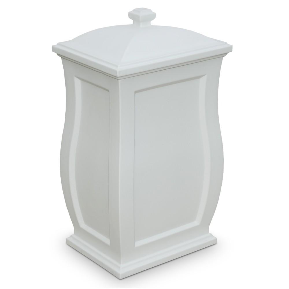 "Image of ""32"""" Mansfield Garden Storage Box White - Mayne"""
