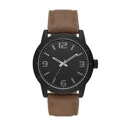 Men's Strap Watch - Goodfellow & Co™ Black