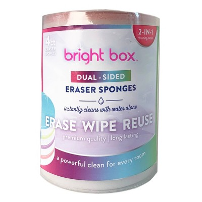 Bright Box Eraser Combo Unit - 4ct