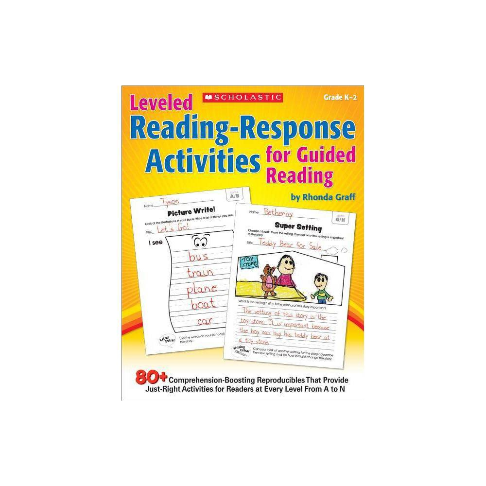 Leveled Reading Response Activities For Guided Reading By Rhonda Graff Paperback