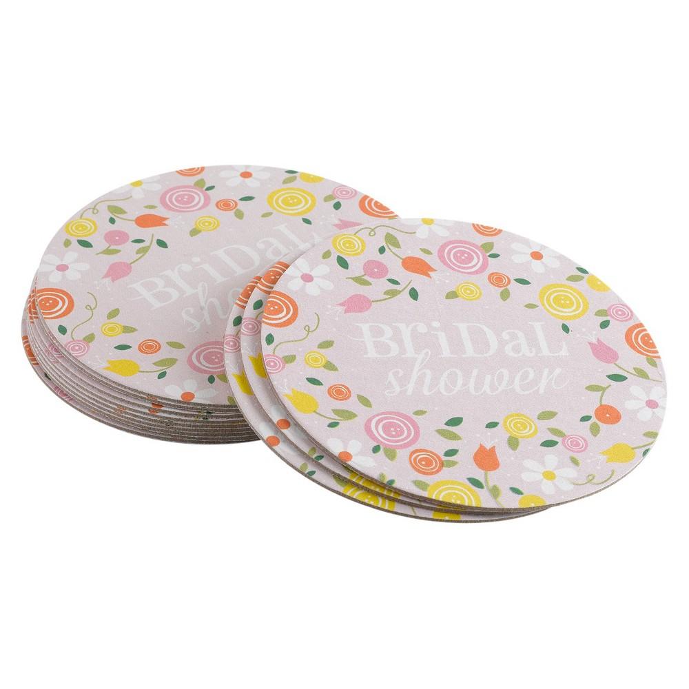 Image of Botanical Bridal Shower Coaster