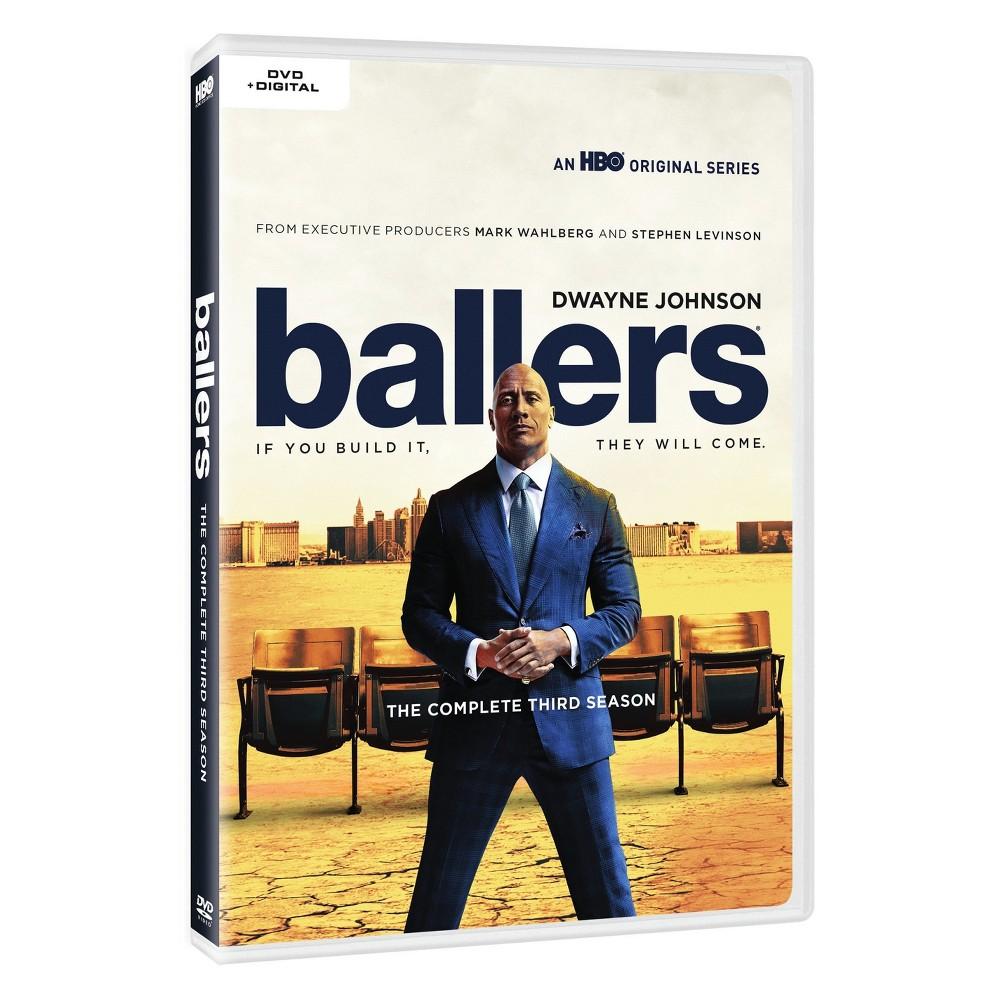 Ballers: The Complete Third Season (Dvd + Digital)
