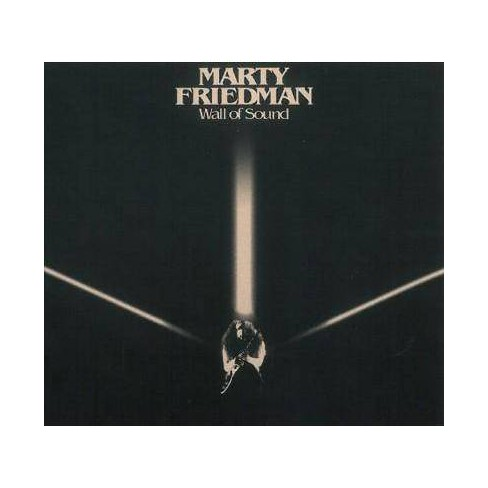 Marty Friedman - Wall Of Sound (CD) - image 1 of 1