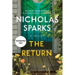 The Return - Target Exclusive Signed Edition by Nicholas Sparks (Hardcover)