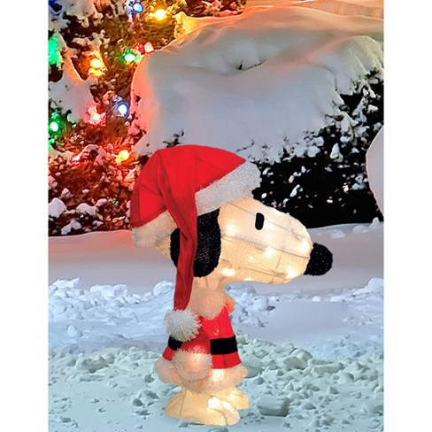 about this item - Snoopy Christmas Outdoor Decorations