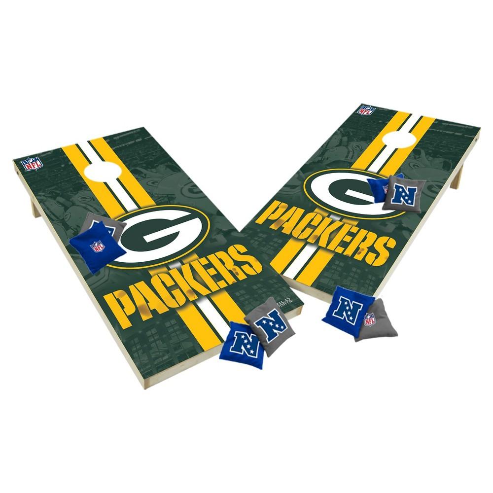NFL Green Bay Packers Wild Sports Tailgate Toss 2x4 Platinum Shield