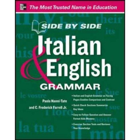 Side by Side Italian and English Grammar - by  Paola Nanni-Tate (Paperback) - image 1 of 1