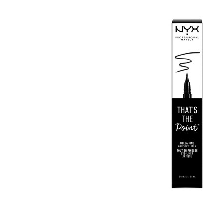 NYX Professional Makeup That's The Point Eyeliner Hella Fine - 0.02 fl oz