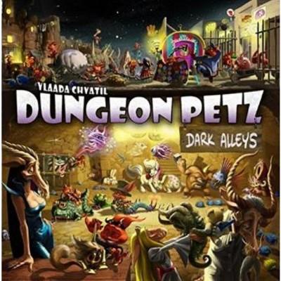 Dungeon Petz - Dark Alleys Expansion Board Game