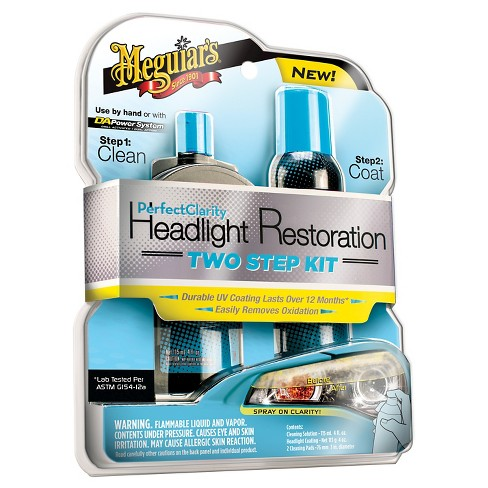 Meguiars Headlight Restoration Cleaning Kit - image 1 of 1