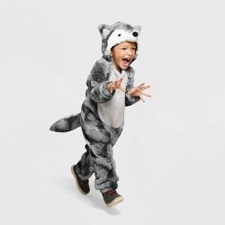 Toddler Plush Wolf Halloween Costume - Hyde & EEK! Boutique™