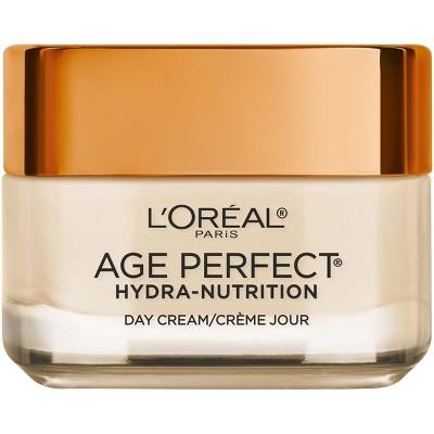 Facial Moisturizer: L'Oreal Paris Age Perfect Hydra-Nutrition Day Cream