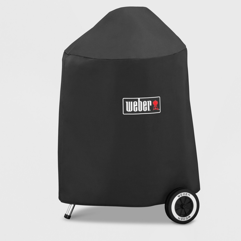 Weber 18 inch Charcoal Grill Cover with Storage Bag, Black 16879854