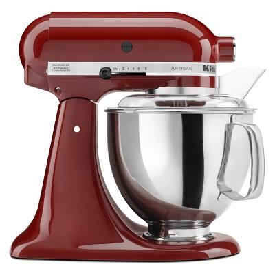KitchenAid Refurbished Artisan Series Stand Mixer - Deep Red RRK150GC