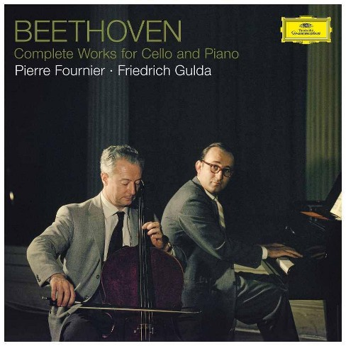 Pierre Fournier - Beethoven: Complete Works For Cello And Piano (Vinyl) - image 1 of 1