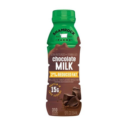 Shamrock Farms 2% Chocolate Milk - 12 fl oz