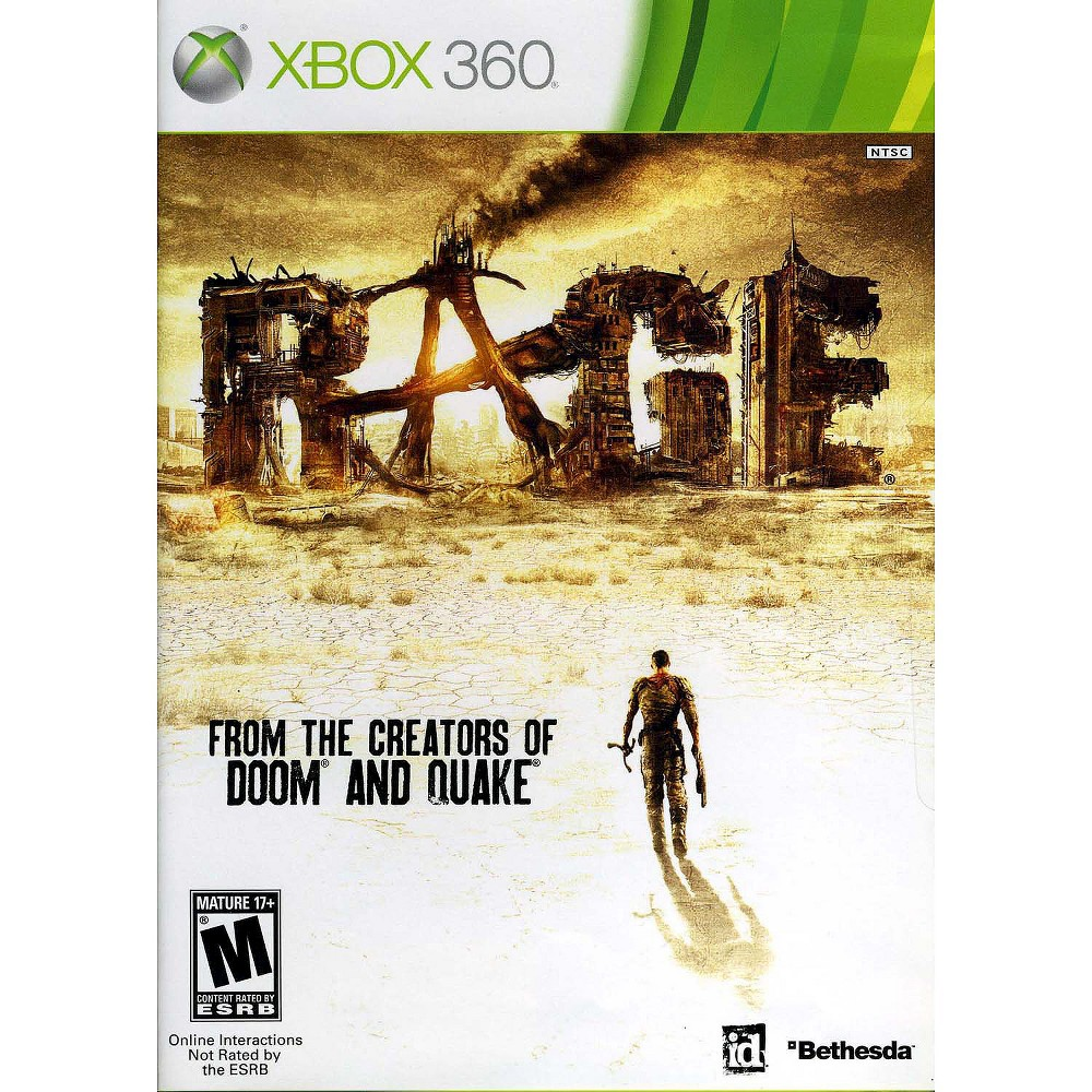 Rage Pre-Owned Xbox 360, Video Games