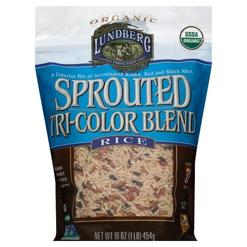 Lundberg® Sprouted TriColor Rice - Blend 16oz - image 1 of 1