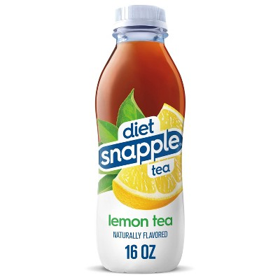 Diet Snapple Lemon Tea - 16 fl oz Bottle