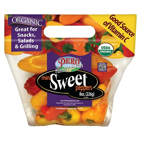 Organic Mini Sweet Peppers - 12oz Bag - image 1 of 1