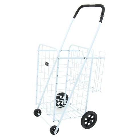 Narita Mini Shopping Cart Plus, White - image 1 of 2
