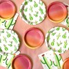 """8.5"""" 20ct Cactus Patterned Dinner Plate - Spritz™ - image 2 of 2"""
