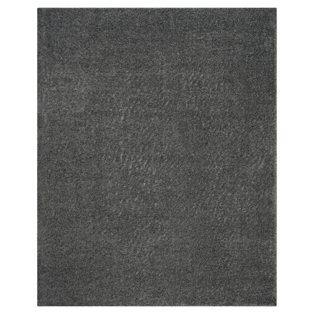 Dark Gray Solid Loomed Area Rug - (8'X10') - Safavieh
