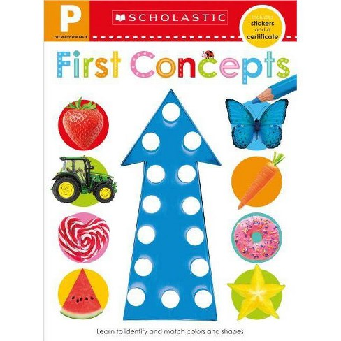 Get Ready for Pre-K Skills Workbook: Shapes and Colors (Scholastic Early  Learners) - (Paperback)
