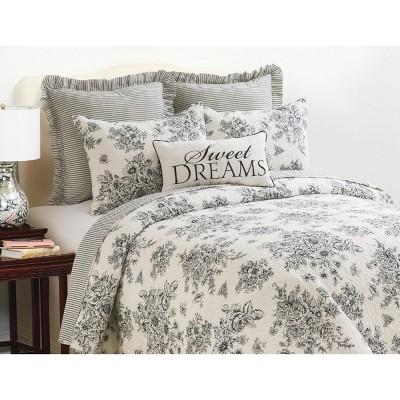 C&F Home Nelly Toile Cotton Quilt Set
