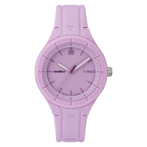 Women's Timex Ironman Essential 38mm Watch - Purple TW5M17300JT - image 1 of 3